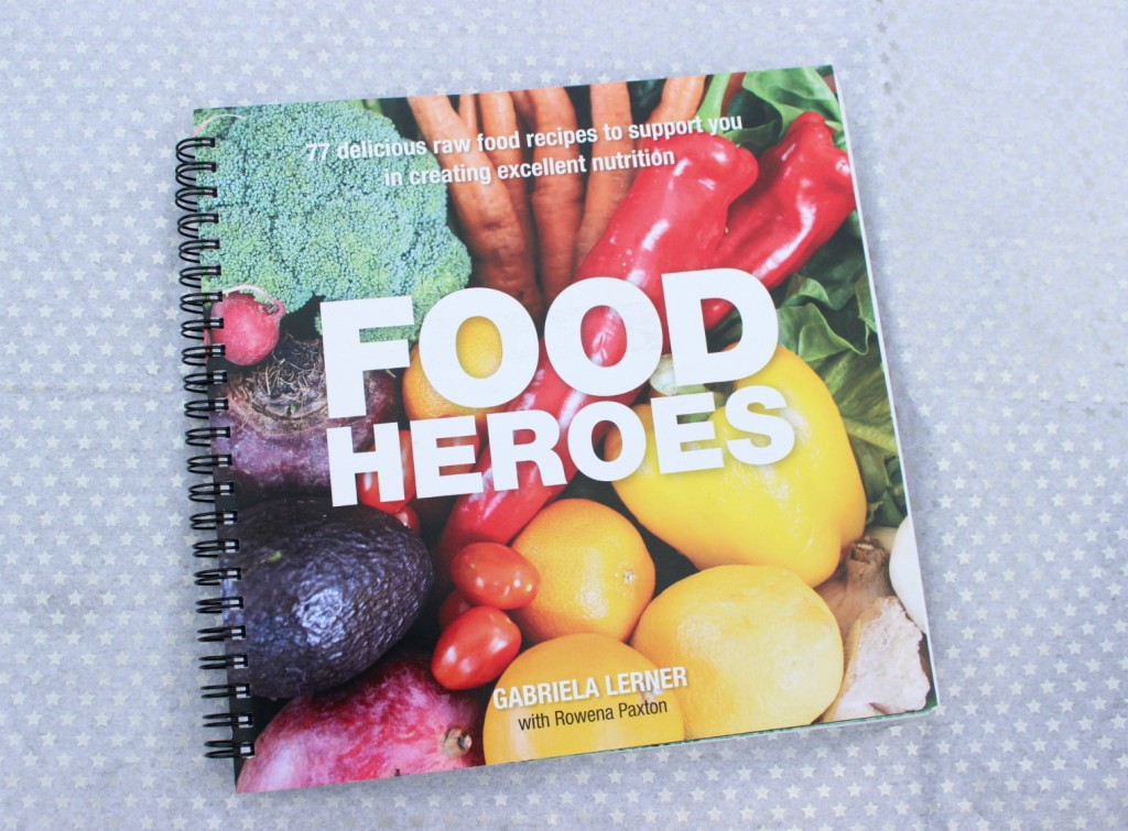 Food heroes recipe book review dabble with a little raw food for food heroes raw recipe book by gabriela lerner forumfinder Gallery